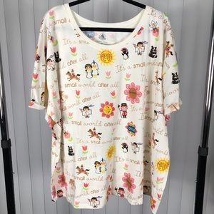 "Disney World ""It's a Small World"" Shirt NWT"